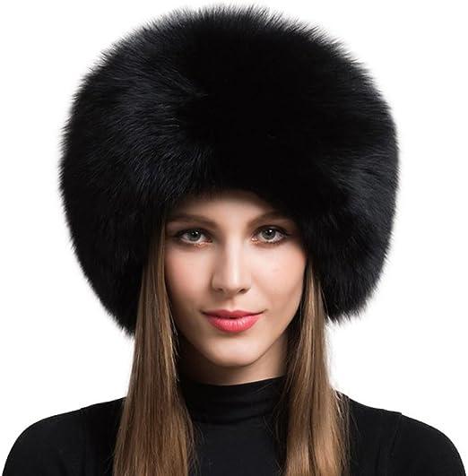 Winter hat Fur beanie Cloche fur hat Gift for her. Skull fur cap Warm fur hat for winter Women/'s mink fur hat with fox cuff