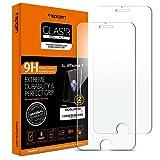 "Spigen® [2 Pack] iPhone 8 / 7 Screen Protector, **Easy-Install Kit** iPhone 8 Screen Protector [3D Touch Compatible] 4.7"" Inch iPhone 7 Screen Protector, *Ultra Clear* iPhone 8 Glass Screen Protector (042GL20800)"