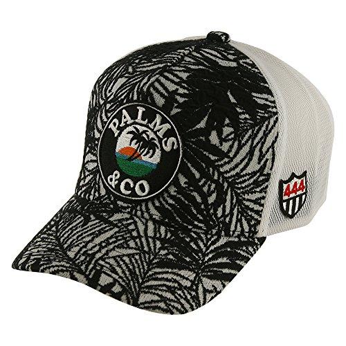 パームスアンドコー YOSHINORI KOTAKE DESIGN for PALMS&CO. 帽子 パームスワッペンボタニカルキャップ
