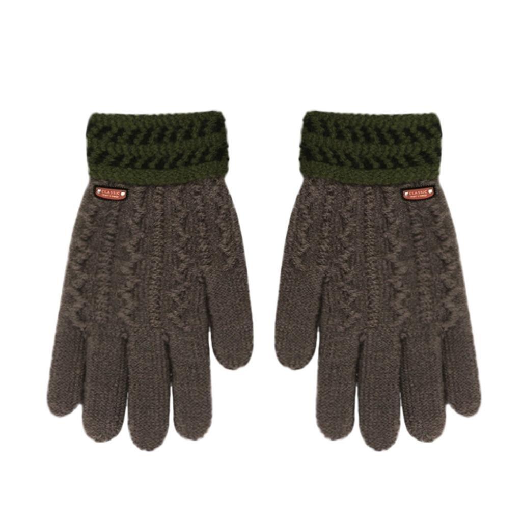 Children 5-12 Years Classical Gloves, TRENDINAO Little Boys Girls Winter Warm Gloves TREN007