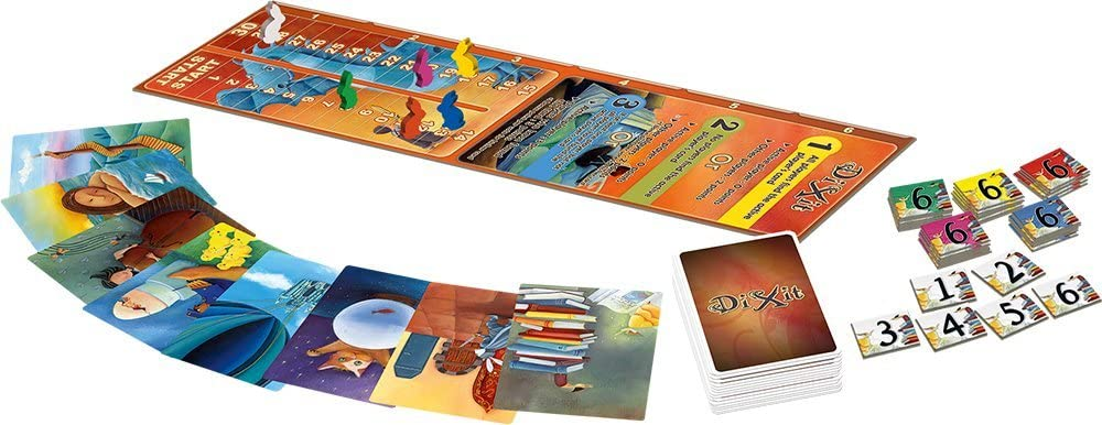 Libellud DIX01 Dixit Expansion Board Game: Roubira, Jean-Louis: Amazon.es: Juguetes y juegos