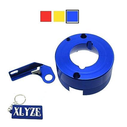 XLYZE Adaptador de filtro de aire de aluminio del billete de ...