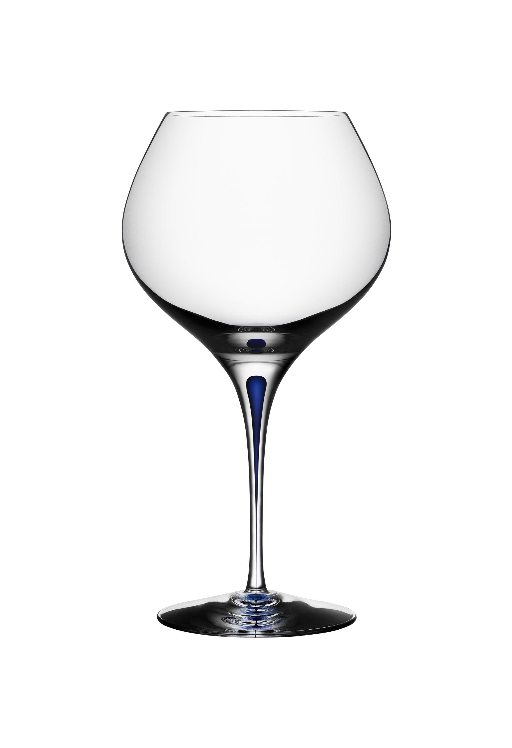 Orrefors Intermezzo Blue 20 Ounce Bouquet Glass