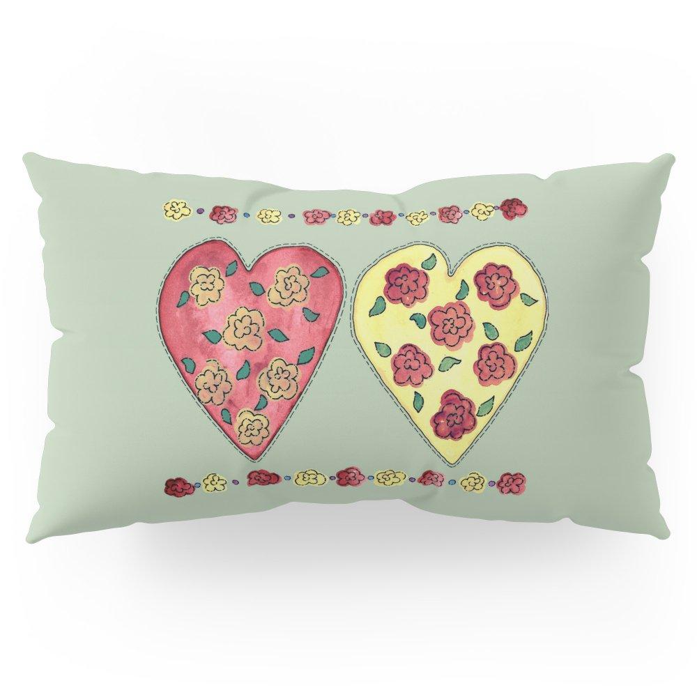 Society6 Summer Love Pillow Sham King (20'' x 36'') Set of 2