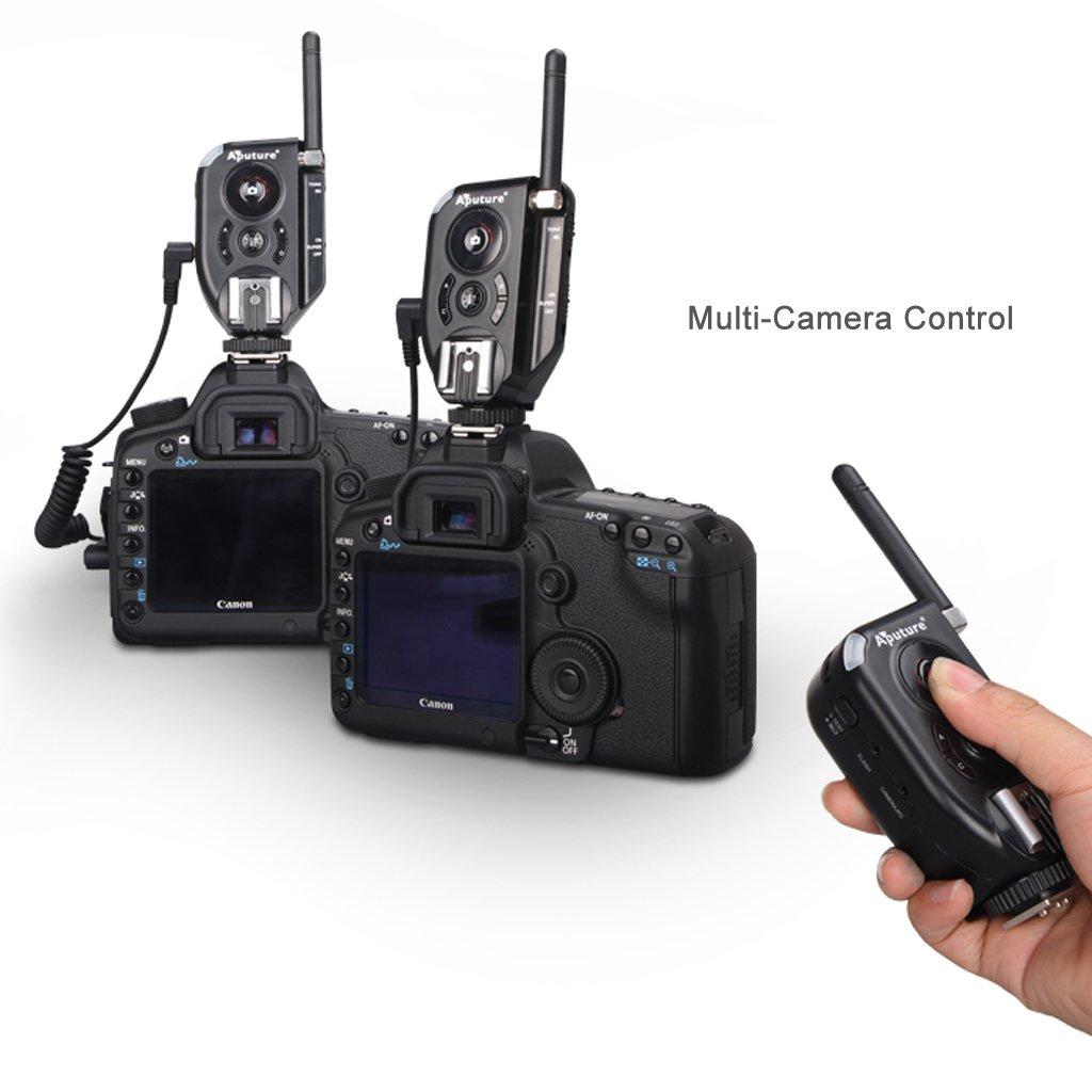Aputure Trigmaster Plus II TXII Set Two 2.4G Flash Trigger for Canon EOS 1D X, 5D Mark III, 5D Mark II, 60D,60D a, 700D, 600D, 100D, 1100D Nikon D4, DF, D3X, D800/D800E, D610, D600, D300S, D7100, D700, D90, D5300,D5200,D5100, D3200, D3100 Pentax K3, K50,