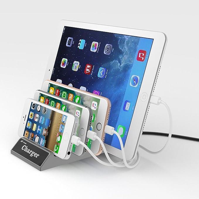 10 opinioni per Stazione di Ricarica Carica Cellulari USB 4 Porte Charging Docking Station