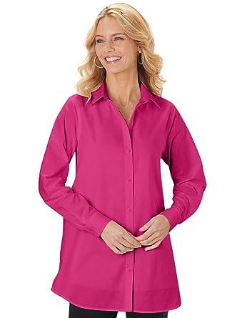 4edf77739fc450 AmeriMark Big Shirt at Amazon Women's Clothing store: