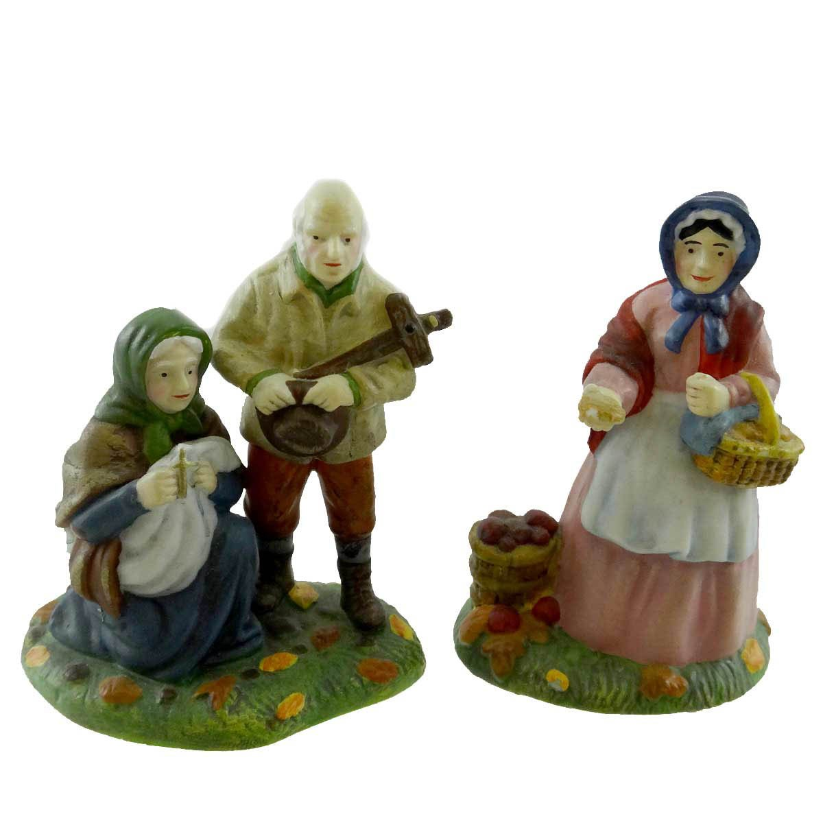 Dept 56 Accessories Begging For Soul Cakes Dickens' Village Halloween - Porcelain 2.25 IN