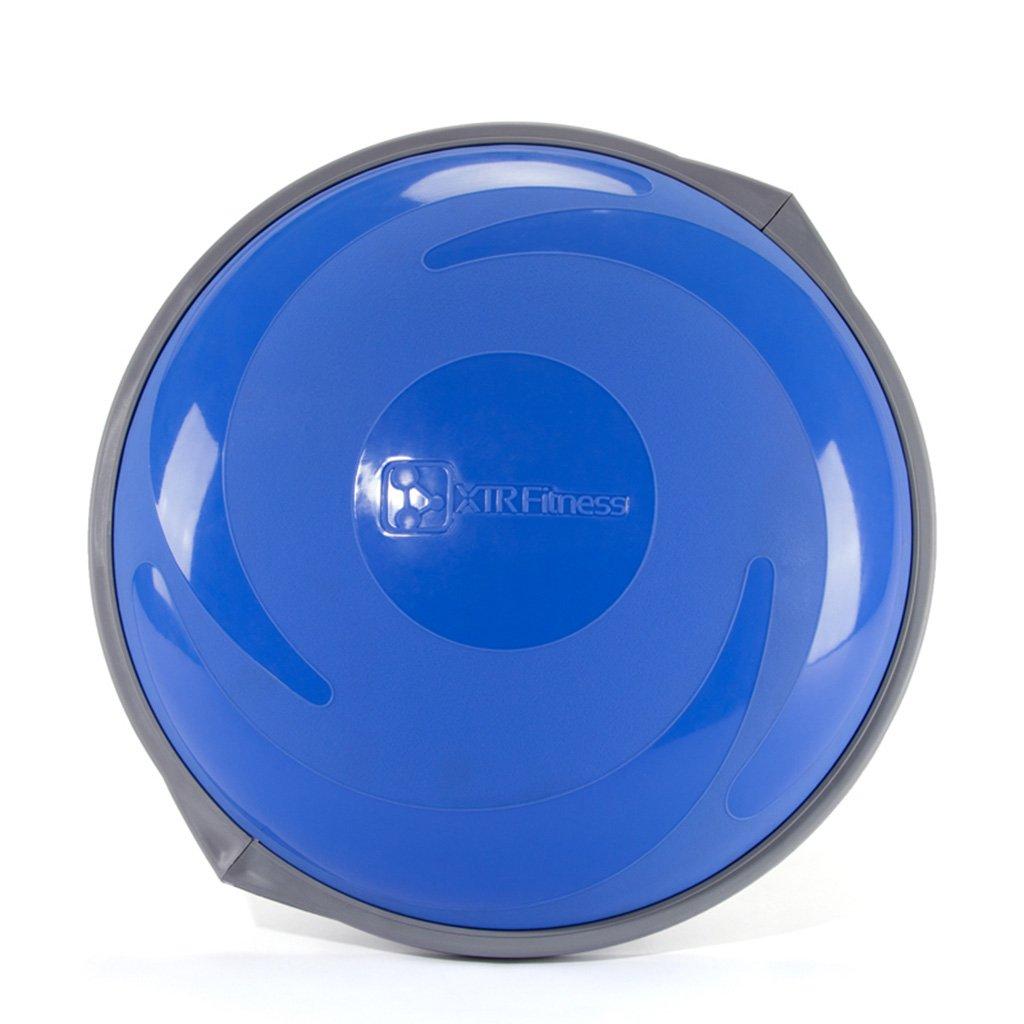 QQYUJIAQIU Yogaball, doppelseitiges rutschfestes explosionssicheres Yoga, das Ballhalbkreis Balancenball abnimmt sicher und langlebig