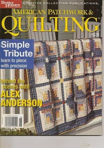 American Patchwork & Quilting Magazine, June 2003 (Volume 11, Number 3, Issue Number 62) ebook