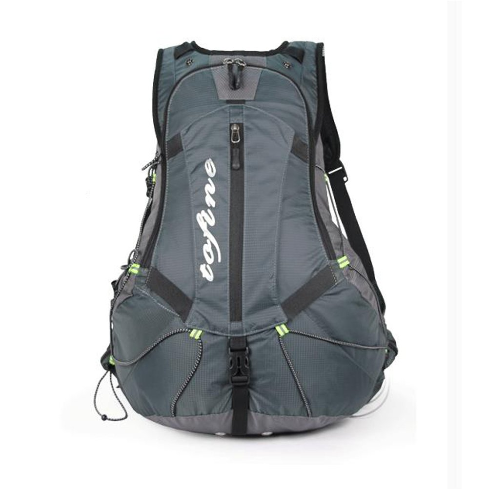 durable service TOFINE Mountain Biking Backpack Street Bike Backpacker Gear with Hydration Pack Rain Cover Grey 27L