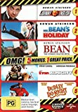 Johnny English / Mr Bean's Holiday / Bean The Ultimate Disaster Movie / Evan Almighty / Dudley Do-Right DVD