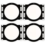 """Theater Solutions RK8C In Ceiling Installation Rough In Kit for 8"""" Speakers 2 Pair Pack"""