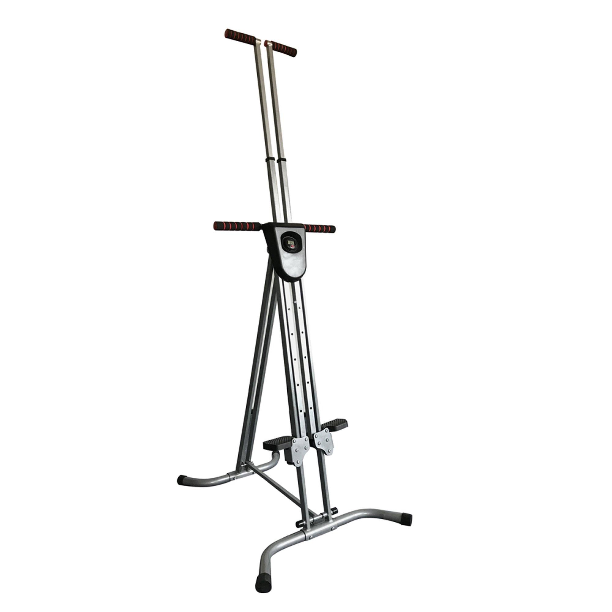 Enshey Vertical Climber Exercise Climbing Machine Stepper Cardio Exercise Total Body Workout Climber Machine Folding Climbing Machine Fitness for Home GYM Step Climber Exercise Machine by Enshey