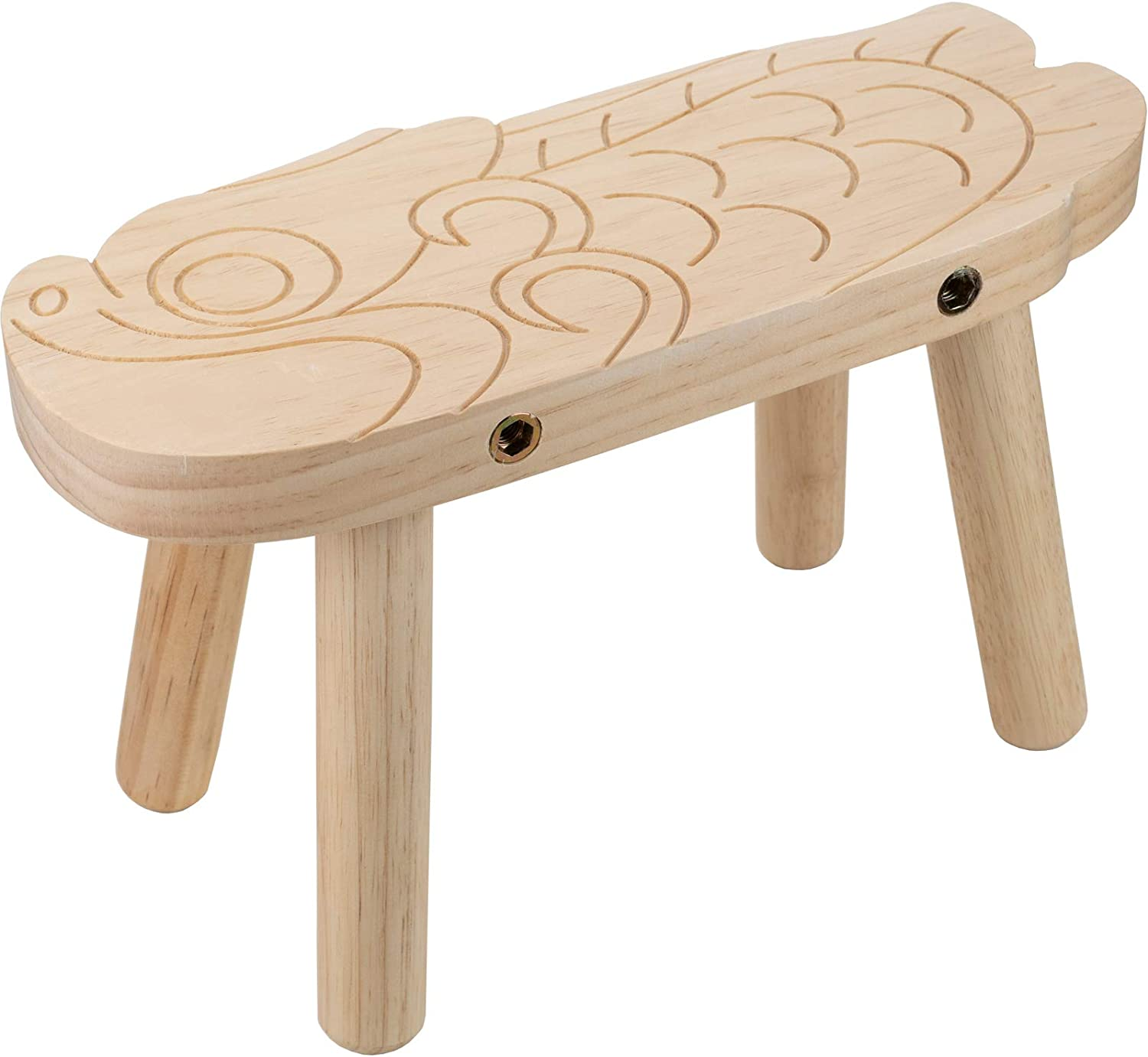 CHEFAN Wooden Stool for Kids-Toddler Stool-Personalized Furniture for Playroom-Wood Craft Project-Dorry's Journey