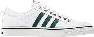 adidas nizza sneakers basses mixte adulte blanc footwear white