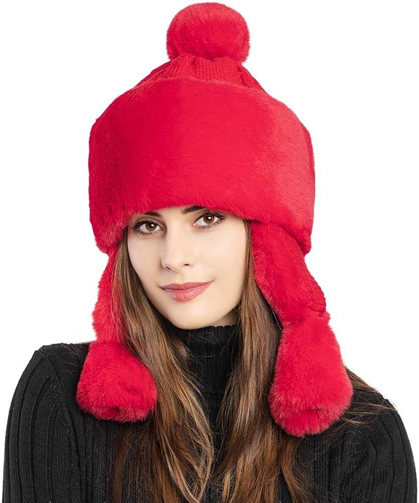 Bomber Hats Women Winter...