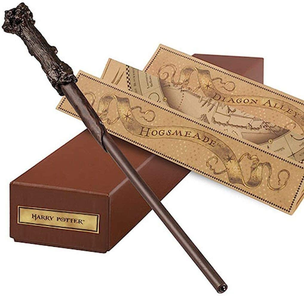 Varita De Harry Potter Varita Interactiva De Ollivander Del Mundo Mágico De Harry Potter Por Universal Studios Toys Games