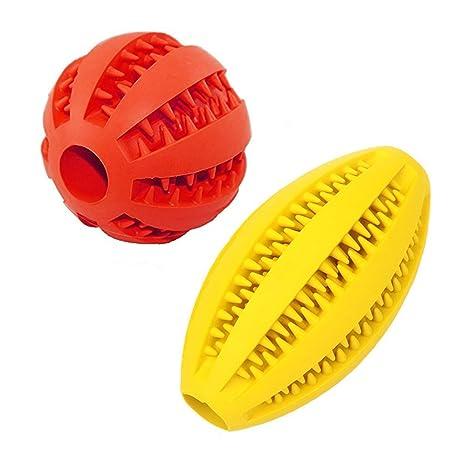 Pelota de juguete para perro, pelota de rugby, juguete de goma no ...