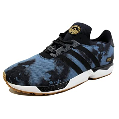 finest selection c01df 225de adidas Men s ZX Gonz Black Blue-Gum D68812 Shoe 8 ...