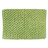 Bathroom Vanity Ikea DII Ultra Soft Chunky Chenille Microfiber Memory Foam Spa Bath Rug, Luxury & Absorbent, Place Near Vanity, Bath Tub or Shower for Bathroom, Dorm Room, And Other More Humidity Use,  21x34