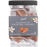 Tara's All Natural Handcrafted Gourmet Sugar Free Caramel: Small Batch, Kettle Cooked, Creamy & Individually Wrapped - 11.5 Ounce