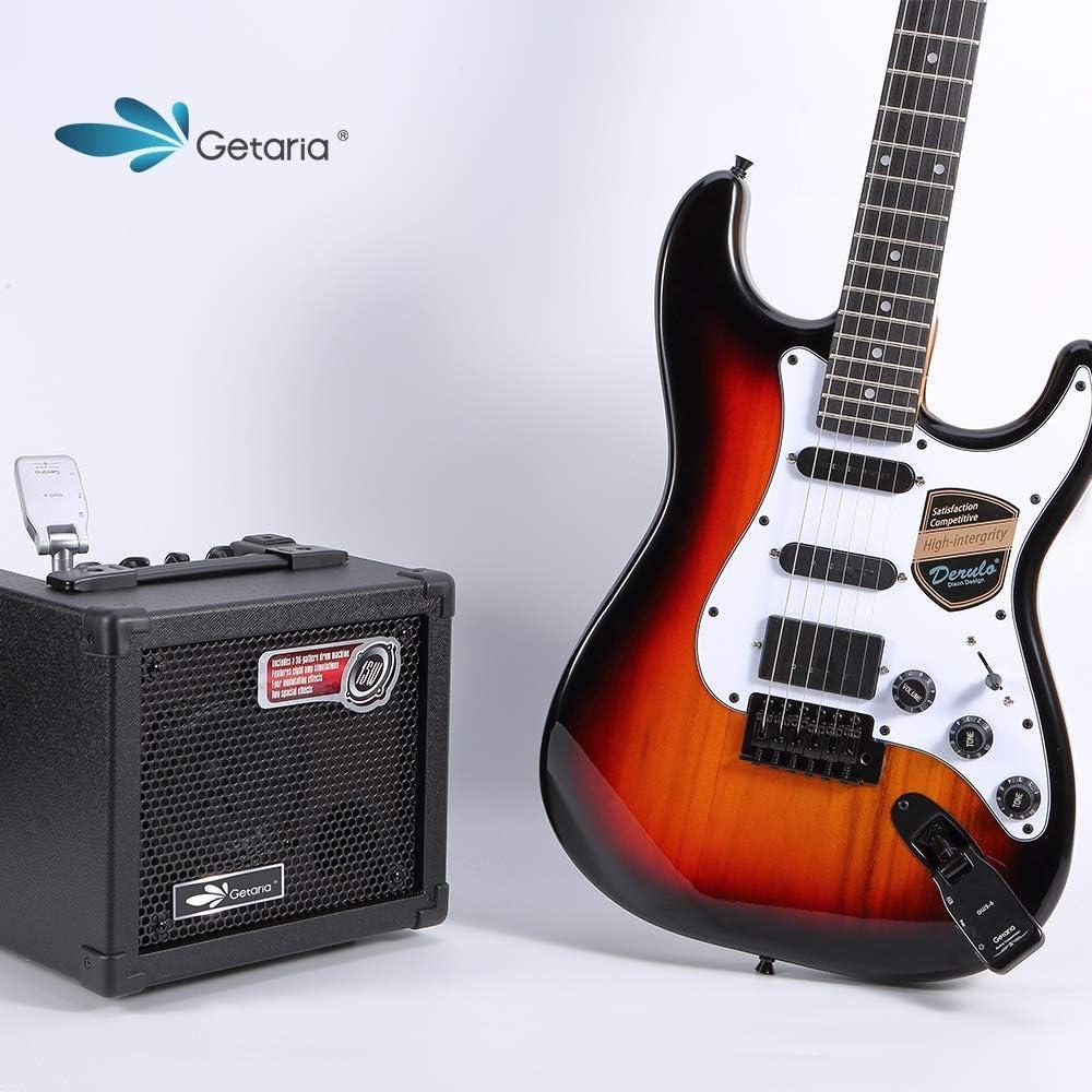 Getaria 2.4G Inalambrico Guitarra Transmisor y Receptor para Bajo ...
