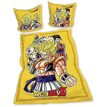 Dragonball Z Bettwäsche Gelb Amazonde Spielzeug