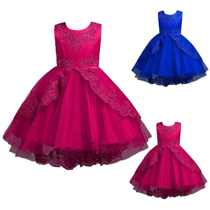 Amazon.com: Vestido de princesa Suma-ma 2-8T para niños ...