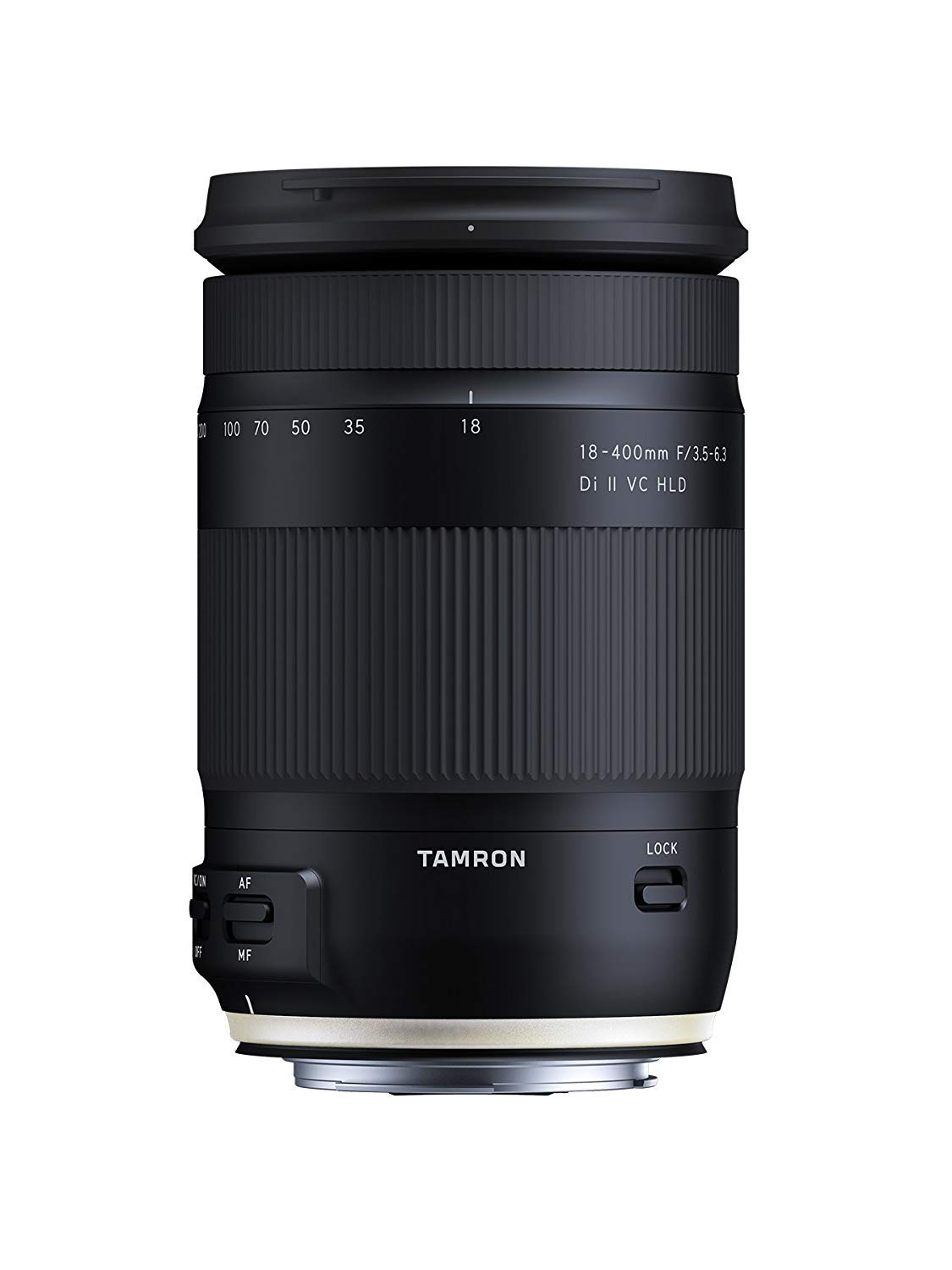 Tamron 18-400mm F/3.5-6.3 DI-II VC HLD All-in-One Zoom for Canon APS-C Digital SLR Cameras (6 Year Limited USA Warranty) by Tamron
