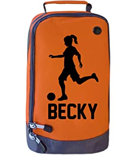 Football Sports Boot Shoe Bag Childrens Kids School *Personalised* Gift