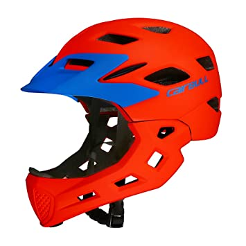 Lixada Kid Bike Casco de la Cara Completa Niños Seguridad Montar Casco Skate