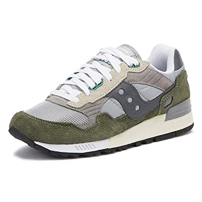 pretty nice adce3 73721 Saucony Men's Shadow 5000 Vintage Low-Top Sneakers: Amazon ...