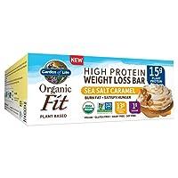 Deals on 12PK Garden of Life Organic Fit Bar Sea Salt Caramel