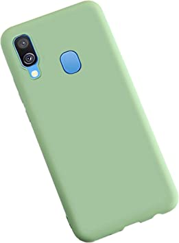 XunEda Funda para Samsung Galaxy A40, Ultra Ligero Funda Suave ...