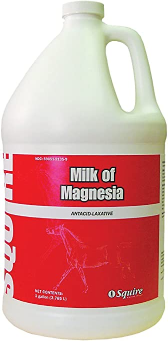 Milk Of Magnesia, 1 Gal for Veterinary Use