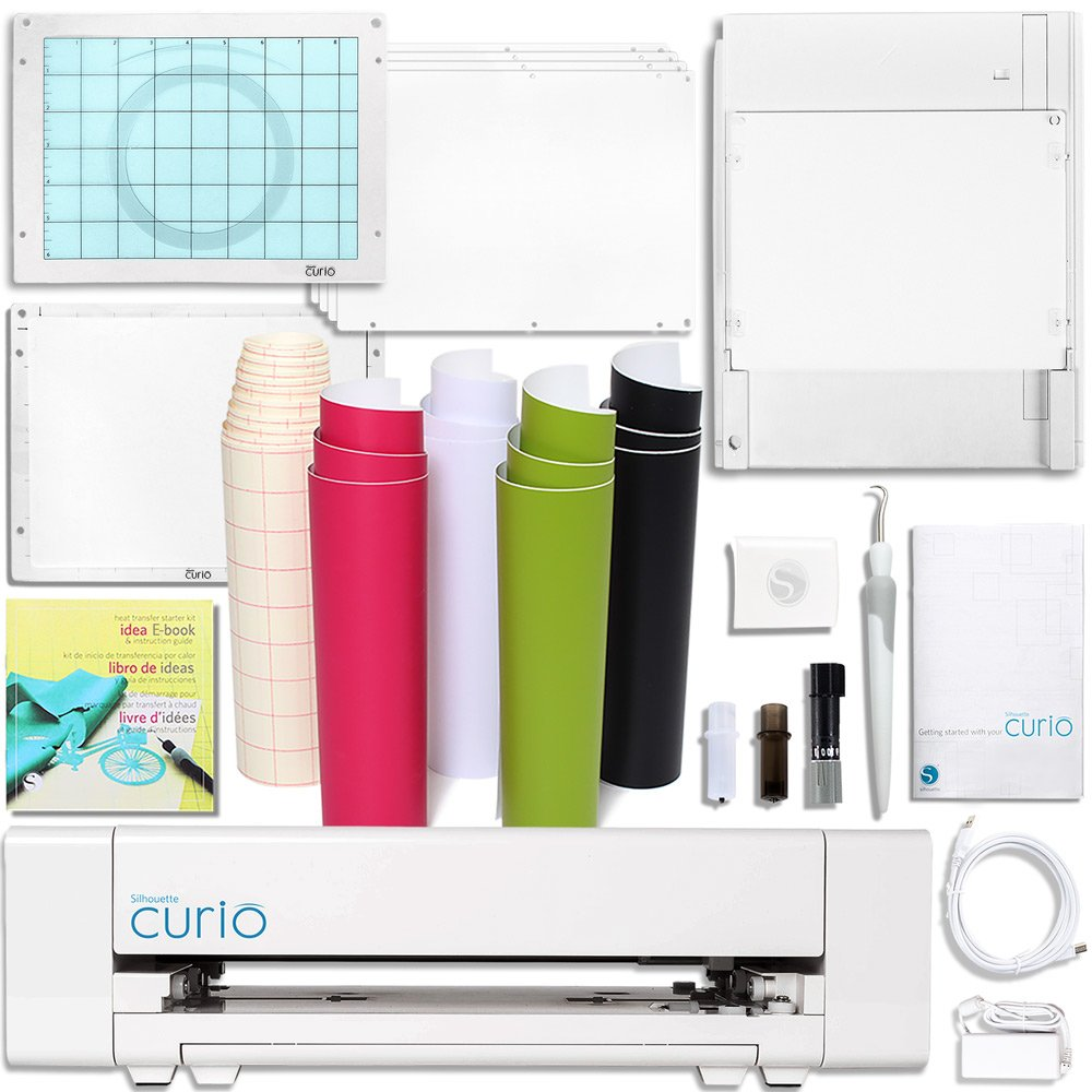 Silhouette America Curio Crafting Printer White