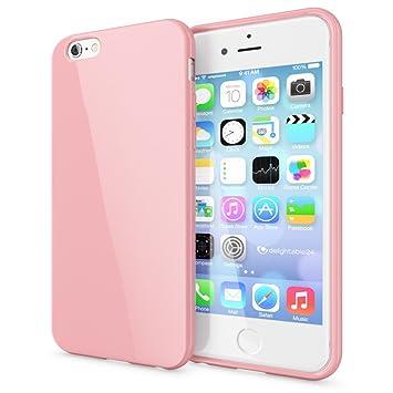 NALIA Funda Compatible con iPhone 6 Plus 6S Plus, Ultra-Fina Gel Protectora Movil Carcasa Silicona Telefono Bumper, Ligera Goma Cubierta Jelly ...