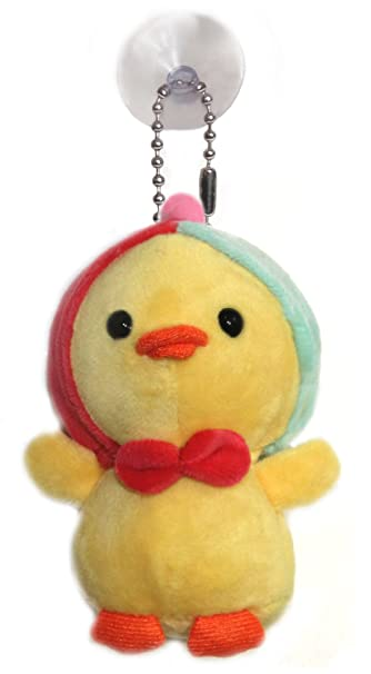 Amazon Com Lucore Hoodie Baby Chick Plush Stuffed Animal Keychain