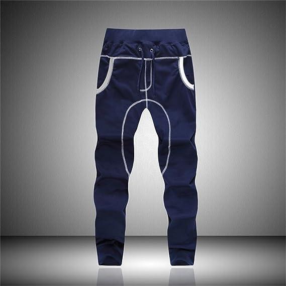 YanHoo Pantalón Casual para Hombre Baile Sportwear Pantalones Holgados Holgados Pantalones Pantalones de chándal Pantalones Casuales de Banda elástica de ...