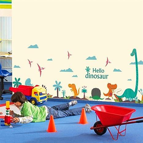 Amazon.com: RTLJN Wall stickersNew Creative Personality Children ...