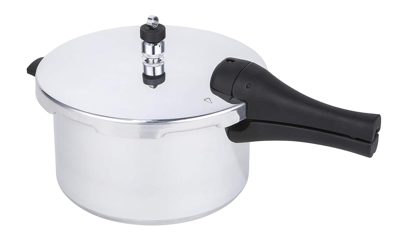 Prestige 47287 Pressure Cooker 4L Aluminium 15lbs PSI Induction hob Suitable Base Silver Meyer Group Ltd
