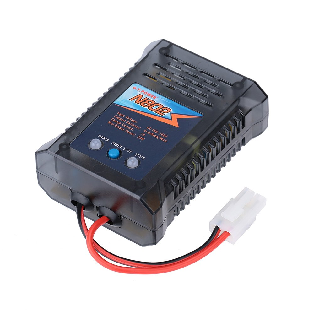 Jimi N802 20w 4 8s Nimh Nicd Battery Charger For Rc Car Simple Electronic Circuits Computers Accessories
