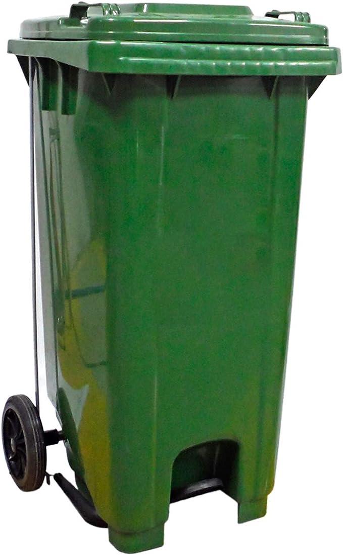 Jardin202 - Contenedor de Basura 120L - con Pedal: Amazon.es: Jardín