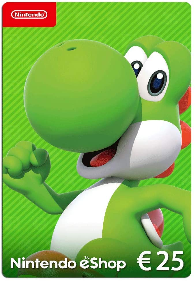 Nintendo eShop Tarjeta de regalo 25 EUR - Código de descarga