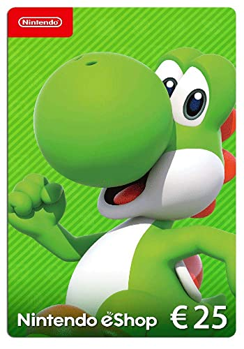 Nintendo eShop Tarjeta de regalo 25 EUR - Código de descarga ...