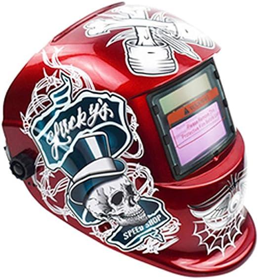 Anjuley Assombrissement automatique Gamme de teintes r/églables dassombrissement automatique du masque de casque de soudage