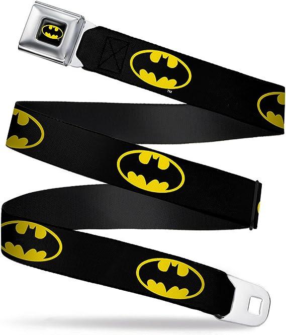 Mehrfarbig Buckle-Down Unisex-Erwachsene Lanyard-1.0-Batman Shield Black//Yellow Schl/üsselanh/änger Einheitsgr/ö/ße