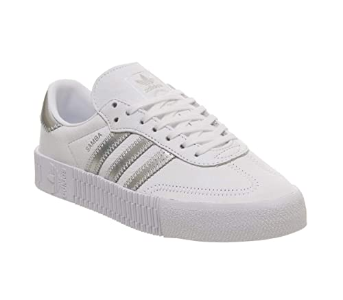 Adidas Originals Damen Sneaker Sambarose weißsilber