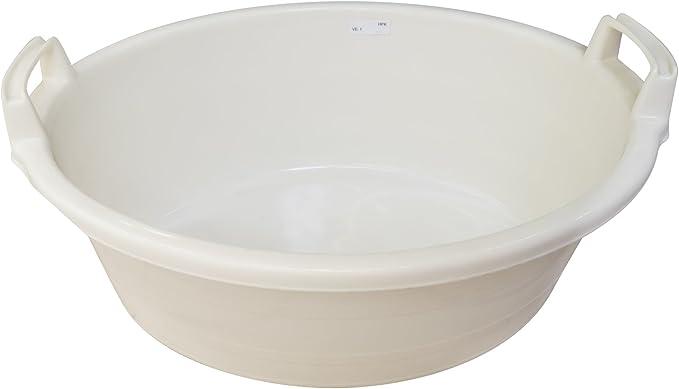 60 Liter Kunststoff oval 75 x 27 cm Lockweiler 103-517542 Wäschewanne rot